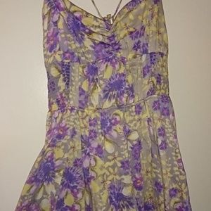 Free People Strappy Floral Sundress Vintage 8